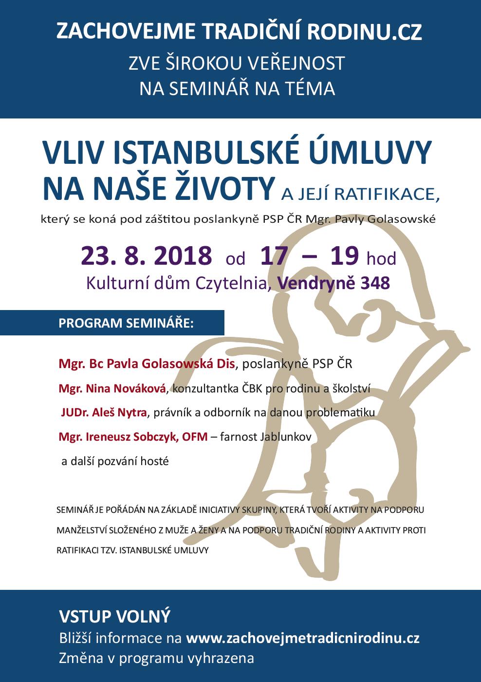 Vendryně – V Kulturním domě Czytelnia ve Vendryni proběhne ve čtvrtek 23.  srpna seminář na téma