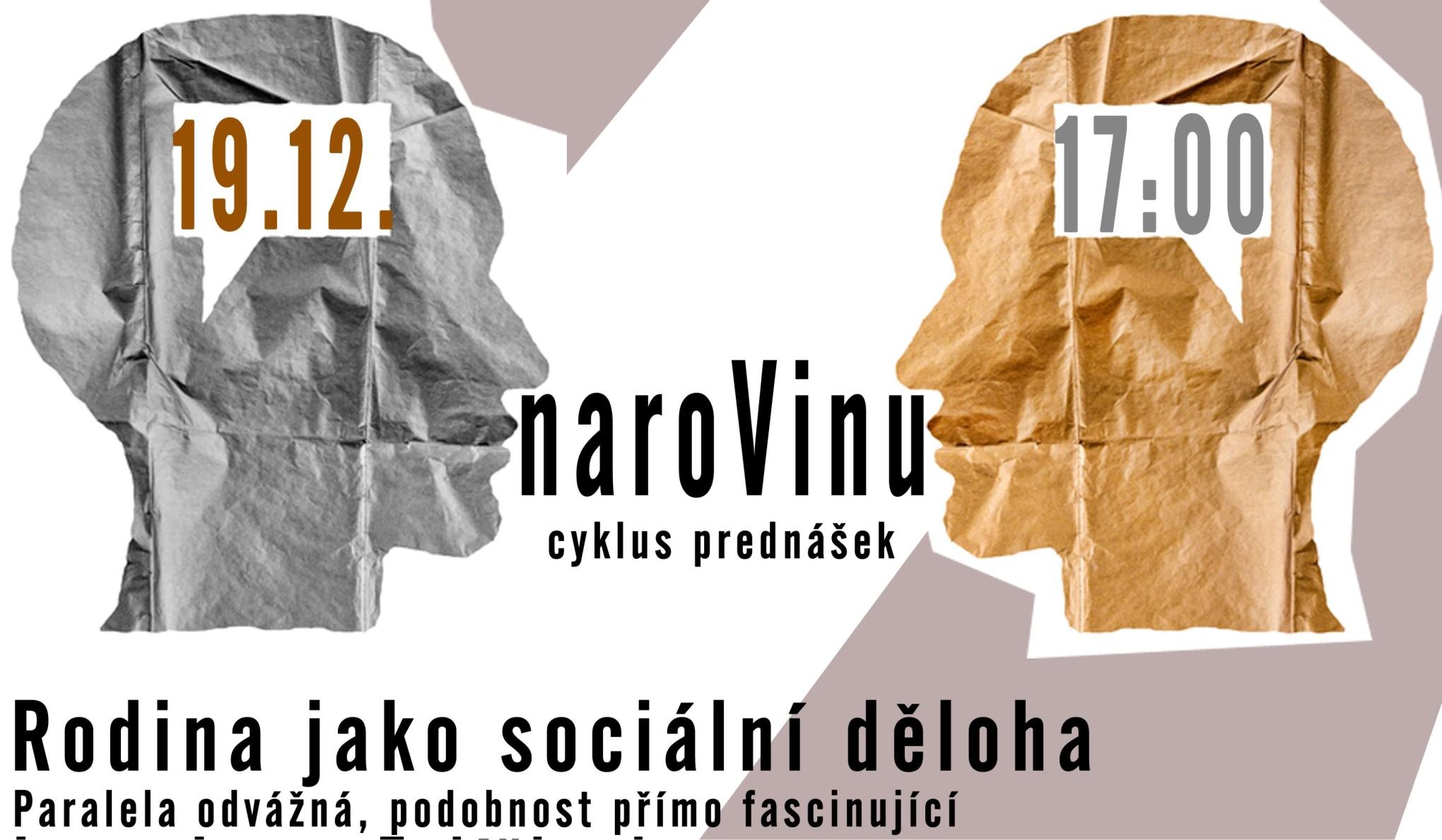 """Jan Zajíček bude v programu naroVinu hovořit na téma """"Rodina jako sociální  děloha"""" 18f842769d"""
